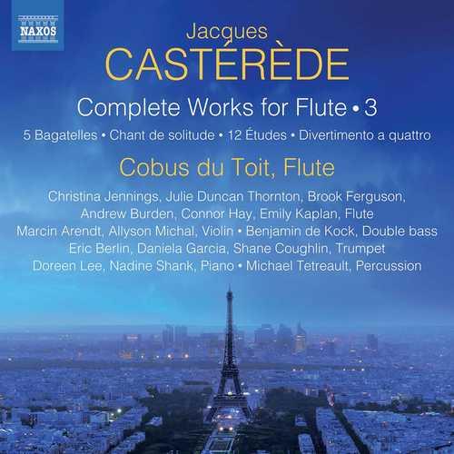 Cobus du Toit: Jacques Castérède - Complete Works for Flute vol.3 (24/96 FLAC)