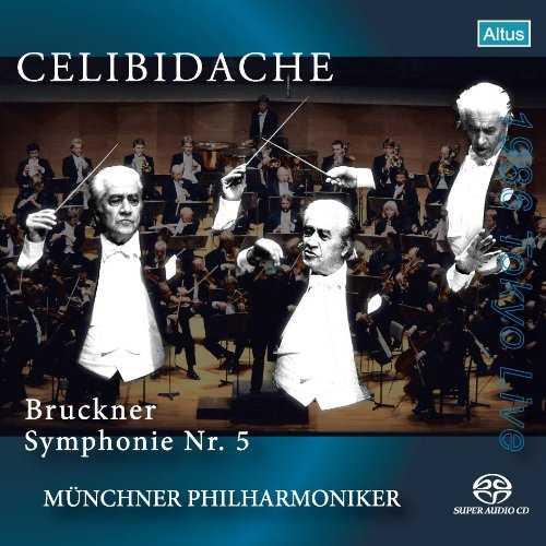 Celibidache: Bruckner - Symphony no.5 (SACD)
