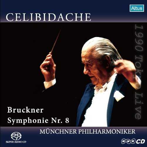 Celibidache: Bruckner – Symphony no.8 (SACD)