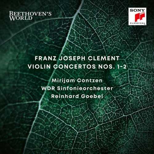 Contzen, Goebel: Clement - Violin Concertos no.1-2 (24/48 FLAC)