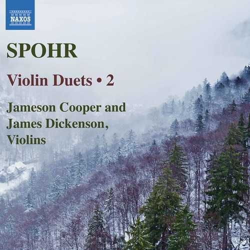 Cooper, Dickenson: Spohr - Violin Duets vol.2 (24/88 FLAC)