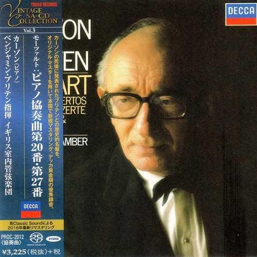 Curzon, Britten: Mozart - Piano Concertos no.20 & 27 (SACD)