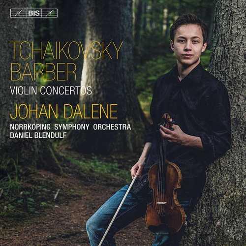 Dalene, Blendulf: Tchaikovsky, Barber - Violin Concertos (24/96 FLAC)
