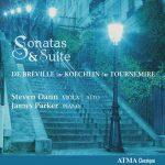 Dann, Parker: De Breville, Koechlin, Tournemire - Sonatas & Suite (24/96 FLAC)