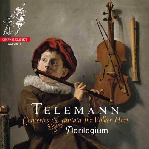 Florilegium: Telemann - Concertos & Cantata Ihr Volker Hort (SACD)