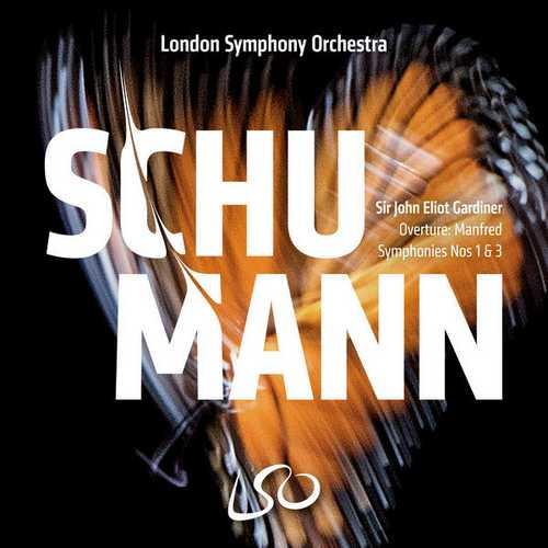 Gardiner: Schumann - Symphonies no.1 & 3 (24/96 FLAC)