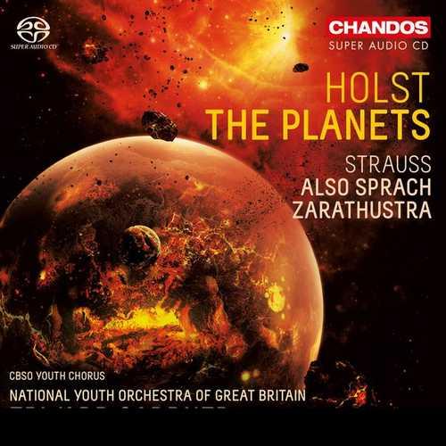 Gardner: Holst - The Planets, Strauss - Also sprach Zarathustra (24/96 FLAC)