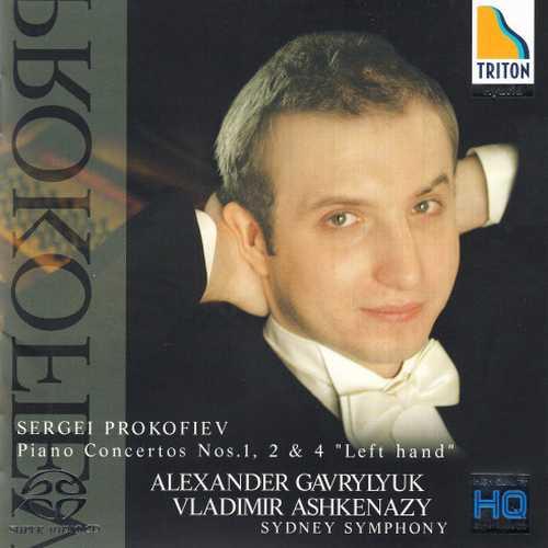 "Gavrylyuk, Ashkenazy: Prokofiev - Piano Concertos 1, 2 and 4 ""Left Hand"" (SACD)"