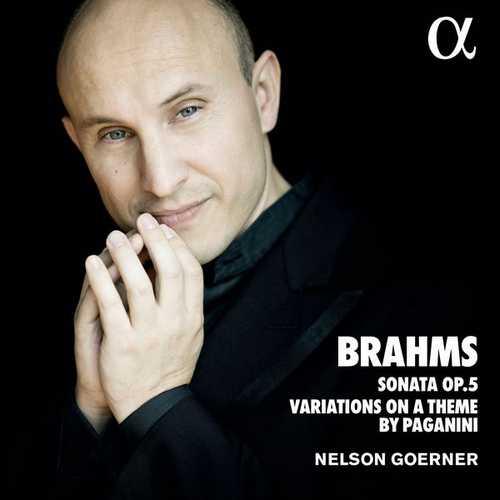 Goerner: Brahms - Sonata no.3, Variations on a Theme by Paganini (24/88 FLAC)