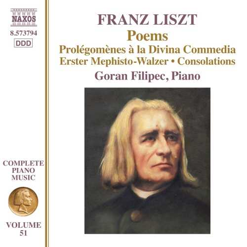 Goran Filipec: Liszt - Poems (24/96 FLAC)
