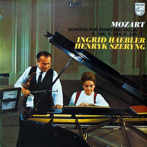 Haebler, Szeryng: Mozart - Sonatas For Piano And Violin K.296, K.304, K.526 (24/96 FLAC)