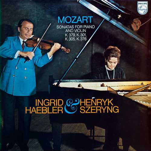 Haebler, Szeryng: Mozart - Sonatas For Piano And Violin K.301, K.305, K.376, K.379 (24/96 FLAC)