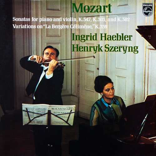 Haebler, Szeryng: Mozart – Sonatas For Piano And Violin K.547, K.303, K.302 (24/96 FLAC)
