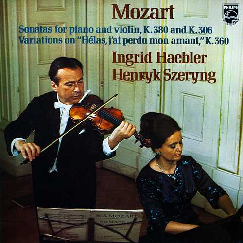 Haebler, Szeryng: Mozart – Sonatas For Piano And Violin K.380, K.306 (24/96 FLAC)
