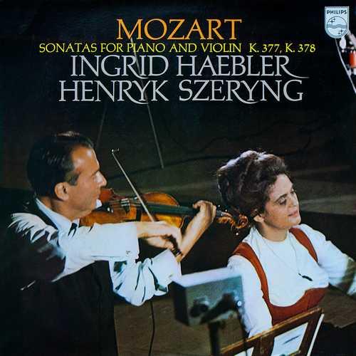 Haebler, Szeryng: Mozart – Sonatas For Piano And Violin K.377, K.378 (24/96 FLAC)