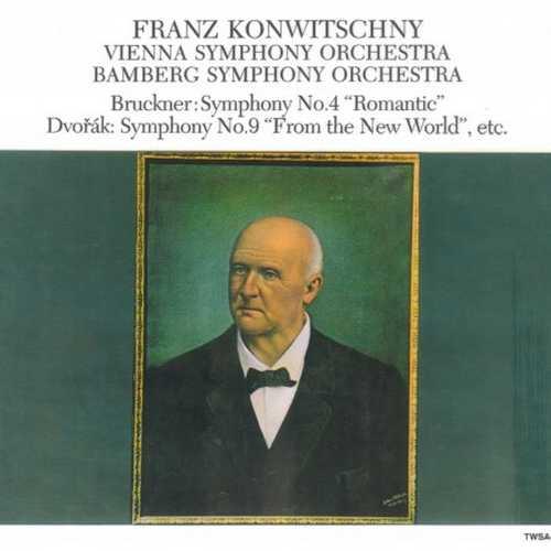 Konwitschny: Bruckner - Symphony no.4, Dvořák - Symphony no.9 etc (SACD)