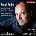 Lortie, Gardner: Saint-Saëns - Piano Concertos no.3 & 5, Allegro Apassionato, Rhapsodie d'Auvergne (24/96 FLAC)