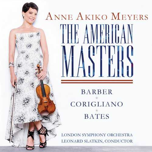 Meyers, Slatkin: The American Masters - Barber, Corigliano, Bates (24/96 FLAC)