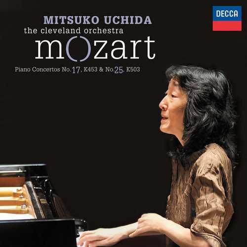 Uchida: Mozart - Piano Concertos no.17 & 25 (24/96 FLAC)