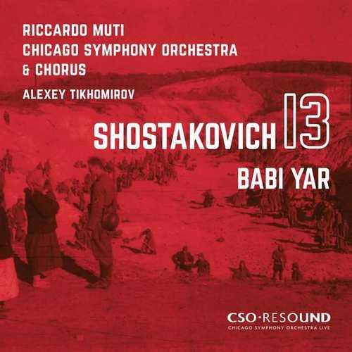 "Tikhomirov, Muti: Shostakovich - Symphony no.13 ""Babi Yar"" (24/96 FLAC)"