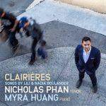 Nicholas Phan, Myra Huang: Clairieres - Songs by Lili & Nadia Boulanger (24/96 FLAC)