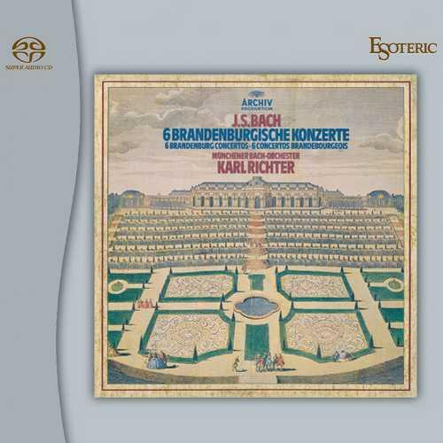 Richter: Bach - 6 Brandenburg Concertos (SACD)