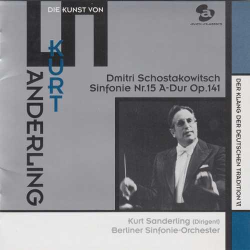 Sanderling: Shostakovich - Symphony no.15 (SACD)