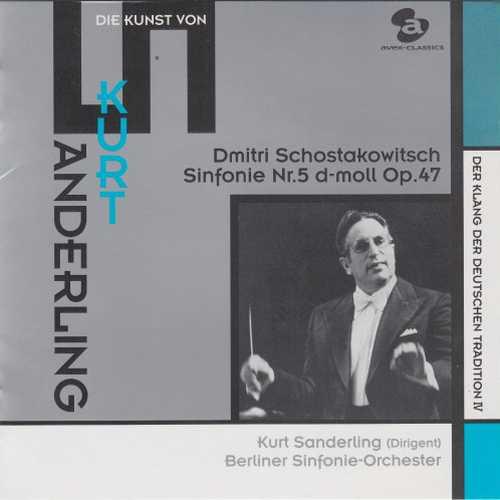 Sanderling: Shostakovich - Symphony no.5 (SACD)