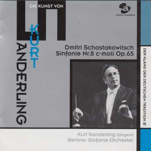 Sanderling: Shostakovich - Symphony no.8 (SACD)