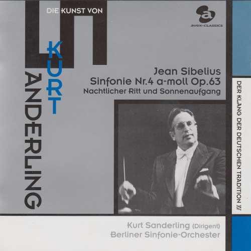 Sanderling: Sibelius - Symphony no.4, Night Ride and Sunrise (SACD)