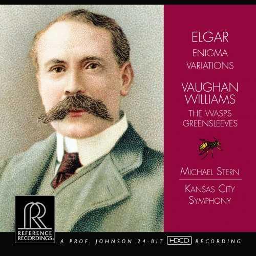 Stern: Elgar - Enigma Variations, Vaughan Williams - The Wasps, Greensleeves (24/176 FLAC)