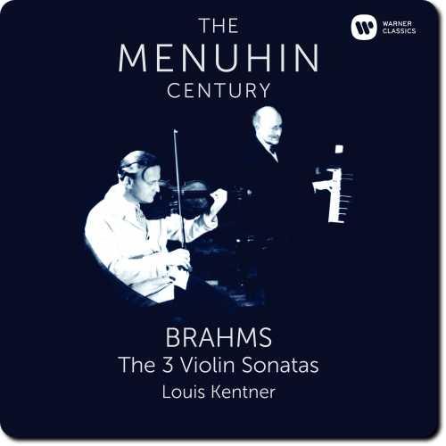 The Menuhin Century: Brahms - The 3 Violin Sonatas (24/96 FLAC)