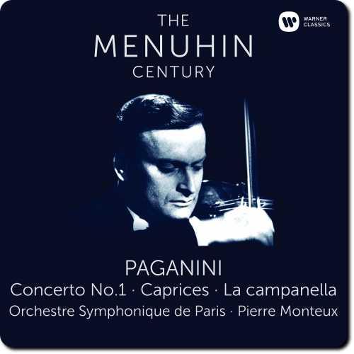 The Menuhin Century: Paganini - Concerto no.1, Caprices, La campanella (24/96 FLAC)