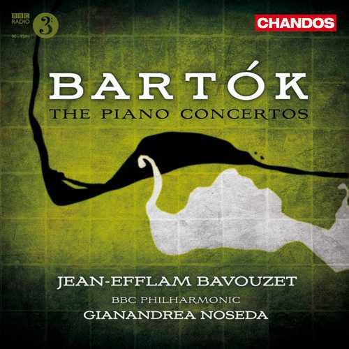 Bavouzet, Noseda: Bartók - Piano Concertos (24/96 FLAC)