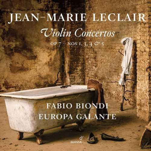 Fabio Biondi: Leclair - Violin Concertos (24/88 FLAC)