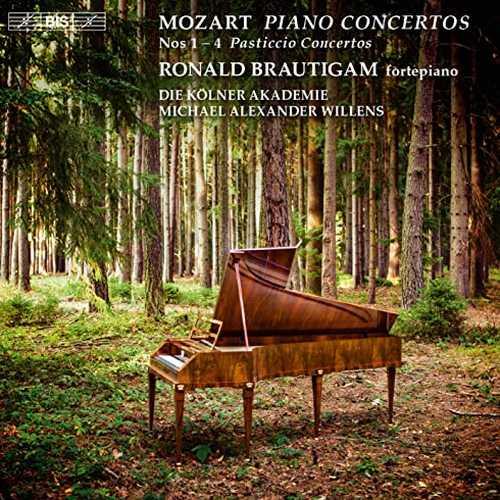 """Brautigam, Willens: Mozart - Piano Concertos no.1-4 """"Pasticcio Concertos"""" (24/96 FLAC)"""