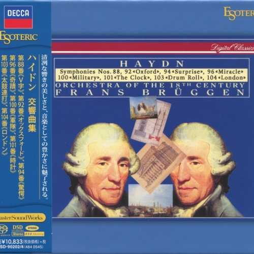 Brüggen: Haydn - Symphonies (SACD)
