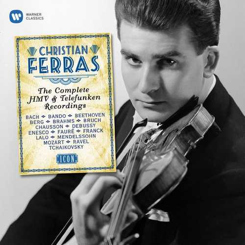 Christian Ferras - The Complete HMV & Telefunken Recordings (24/96 FLAC)