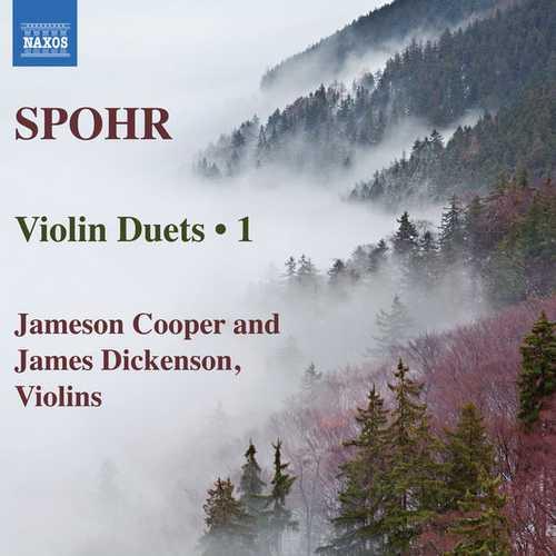 Cooper, Dickenson: Spohr - Violin Duets vol.1 (24/88 FLAC)