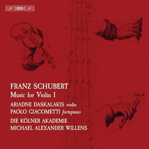 Daskalakis, Willens: Schubert - Music for Violin vol.1 (24/96 FLAC)