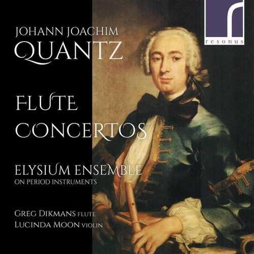 Dikmans: Johann Joachim Quantz - Flute Concertos (24/96 FLAC)