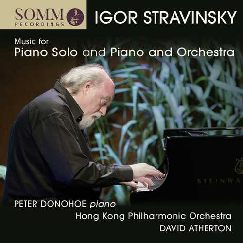 Donohoe, Atherton: Stravinsky - Music for Piano Solo and Piano and Orchestra (24/44 FLAC)