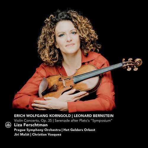 Ferschtman: Korngold - Violin Concerto, Bernstein - Serenade (24/44 FLAC)