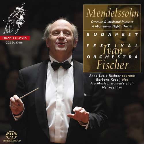 Fischer: Mendelssohn - Overture & Incidental Music to A Midsummer Night's Dream (24/192 FLAC)