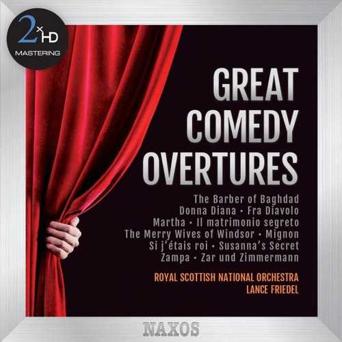 Friedel: Great Comedy Overtures (24/192 FLAC)