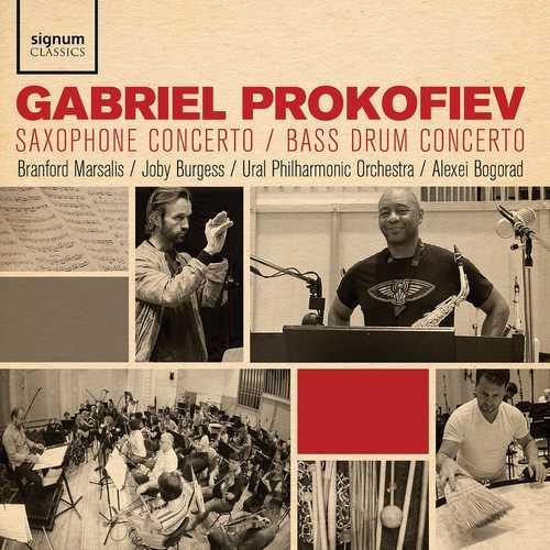 Gabriel Prokofiev: Saxophone Concerto, Bass Drum Concerto (24/96 FLAC)