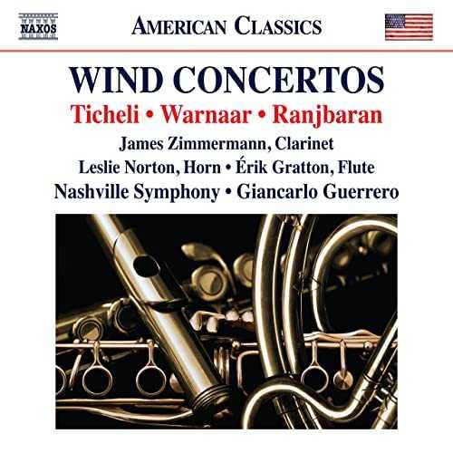Guerrero: Ticheli, Warnaar, Ranjbaran - Wind Concertos (24/96 FLAC)