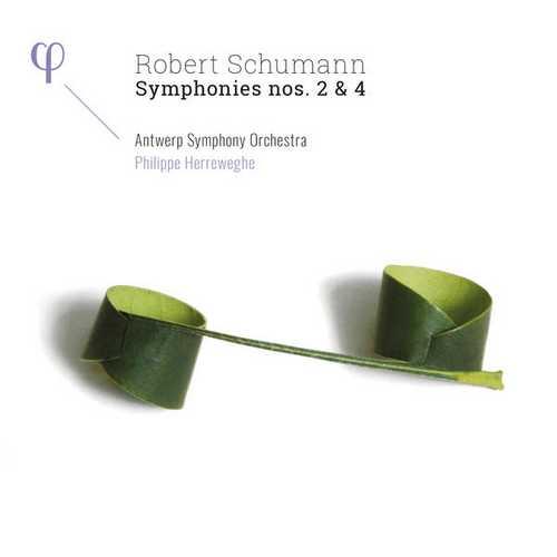 Herreweghe: Schumann - Symphonies no.2 & 4 (24/96 FLAC)
