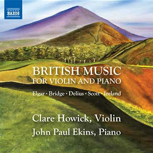 Clare Howick, John Paul Ekins: British Music for Violin and Piano (24/96 FLAC)