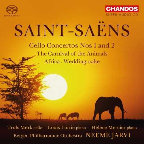 Järvi: Saint-Saëns - Cello Concertos no.1 & 2, The Carnival of the Animals, Africa, Wedding-cake (24/96 FLAC)